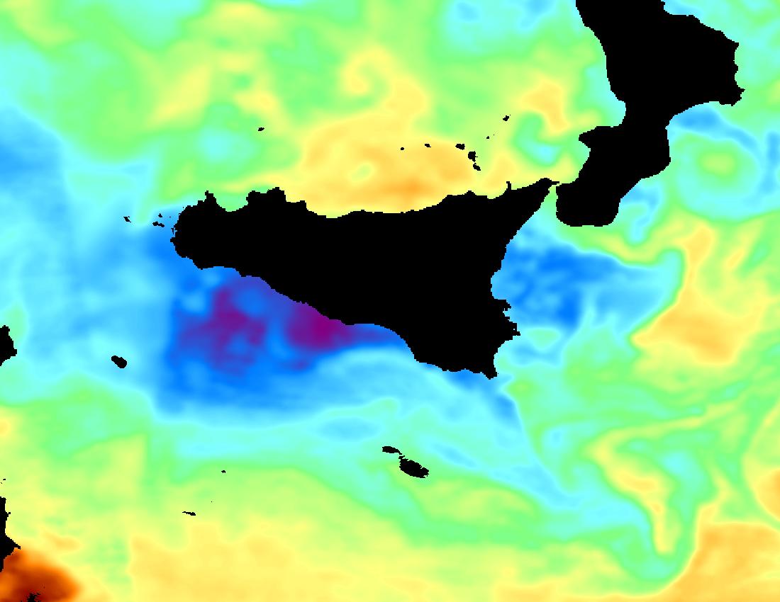 Temperatura Mare - Sicilia