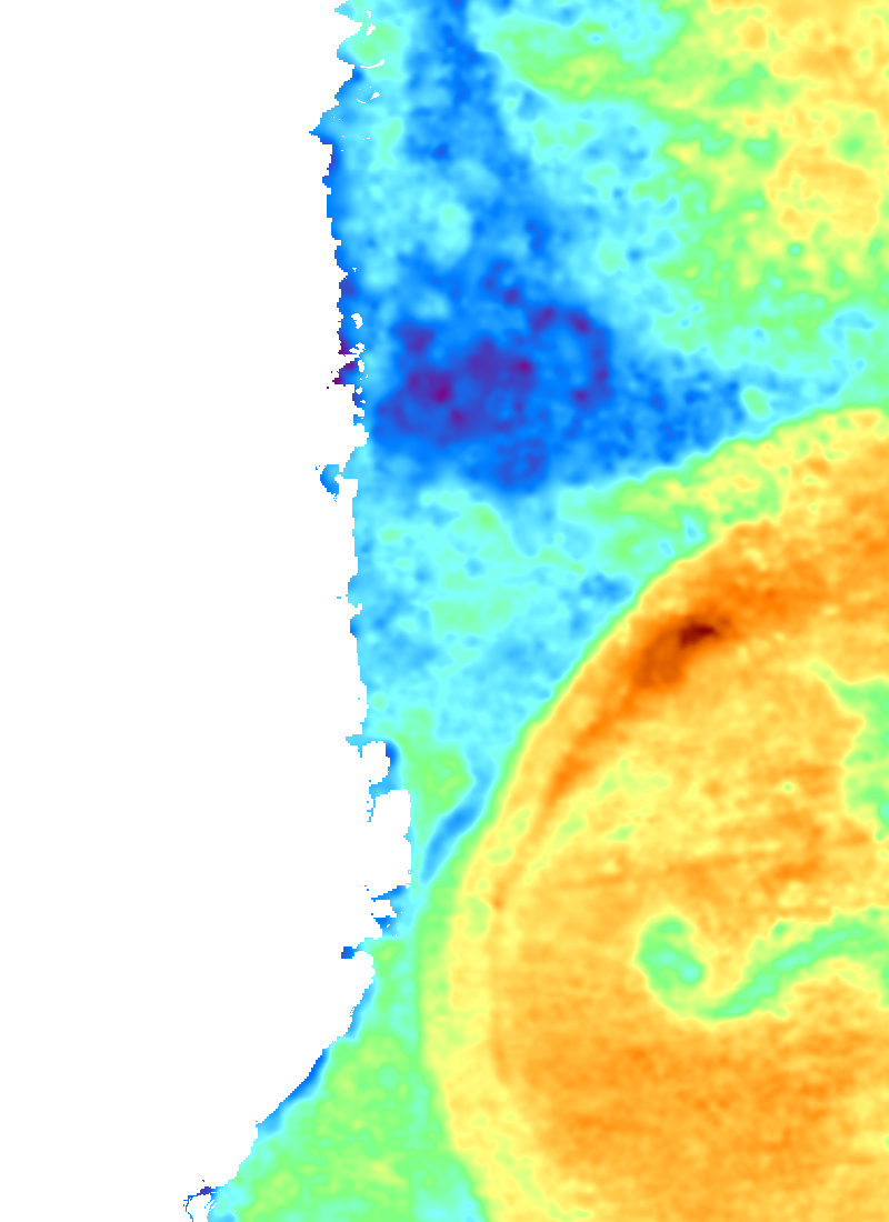 North Mozambique Sst Chart For Deep Sea Fishing Fishtrack